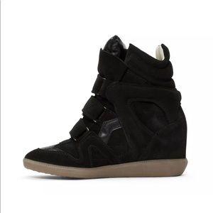 Isabel Marant's Beckett sneakers booties size 9